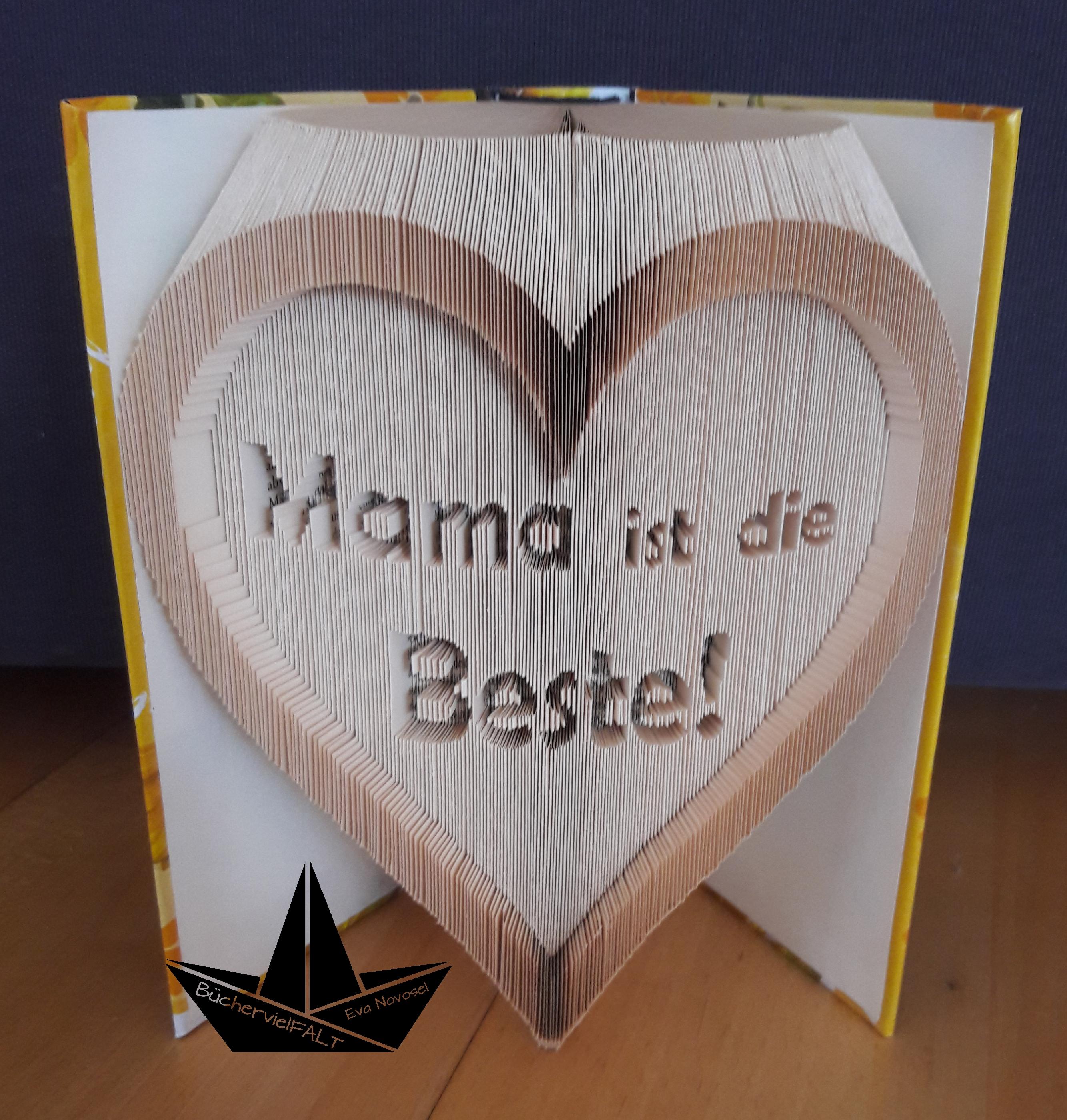 Herz Mama ist die Beste