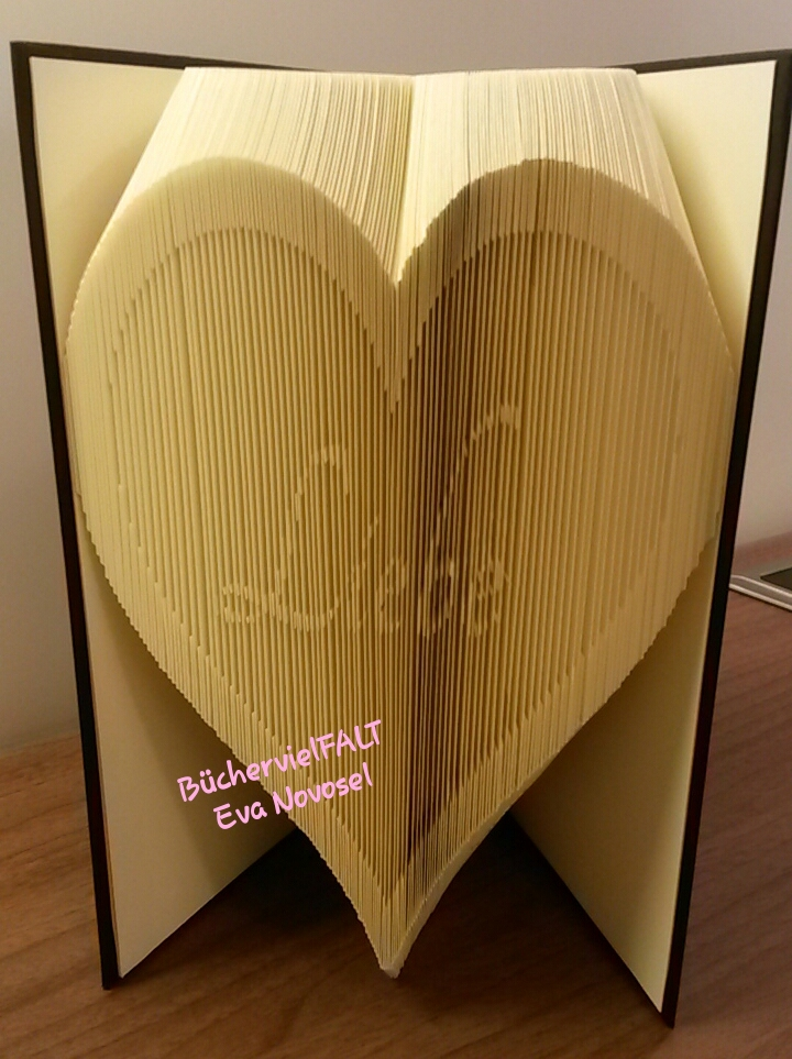 Herz mit versteckter Botschaft Liebe