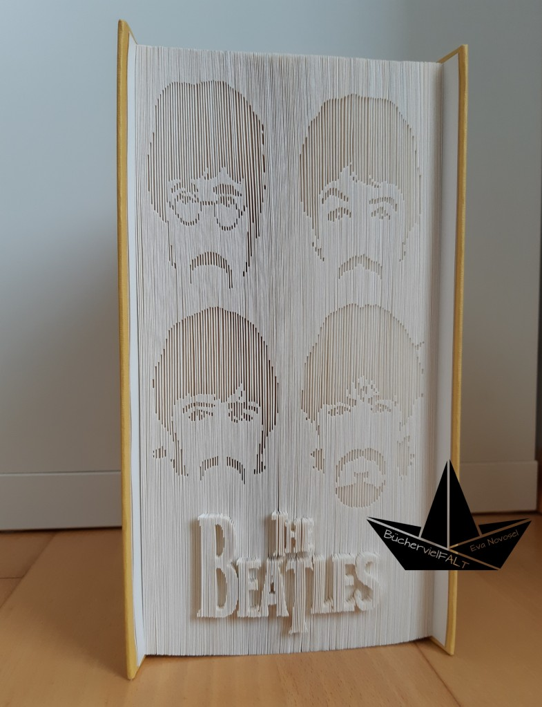 gefaltetes Buch The Beatles